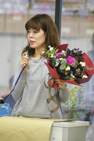 お花に関わる仕事ができて幸せです/大喜多 映美(第3期卒業)