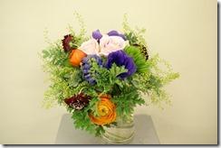 行事の花ヴァレンタイン花束